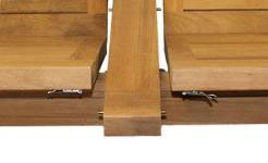 Teak Dining Table from The Garden Furniture Centre