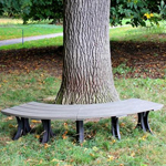 Fit them together to make a tree bench