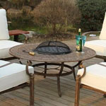The Fire Pit in the middle of the table