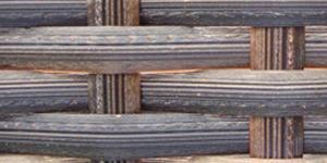 Prussian Bronze Rattan Weave