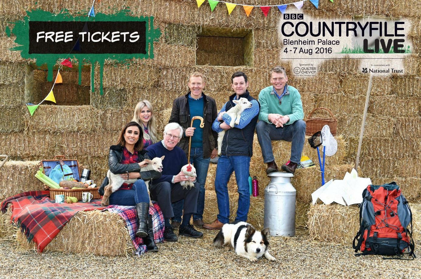 Free Tickets BBC Countryfile Live