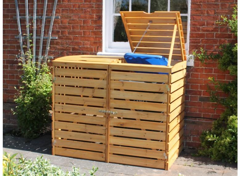 win an eco double wheelie bin cover