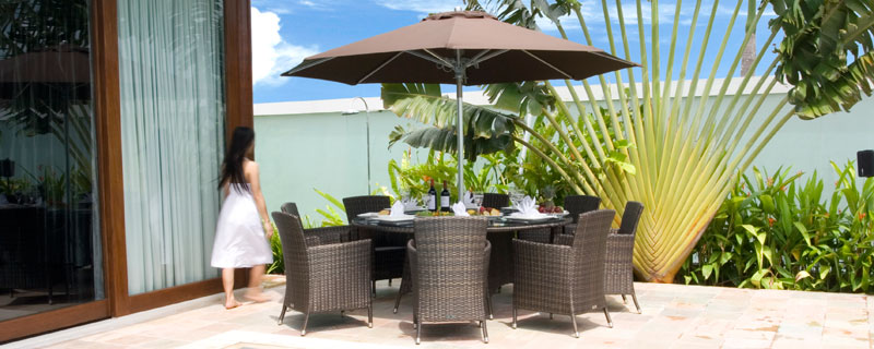 Outdoor Rattan Patio Sets