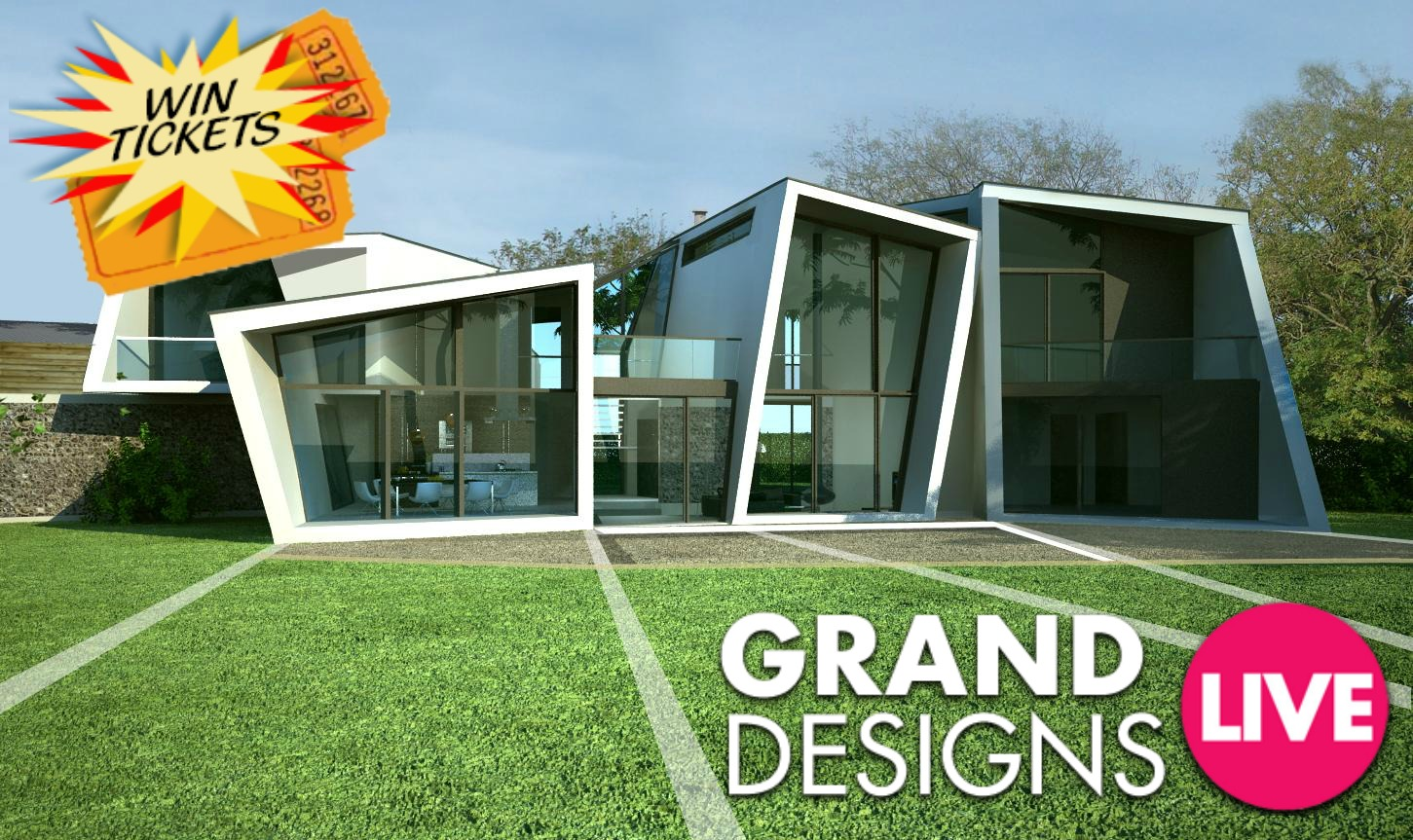 win tickets to Grand Designs Live