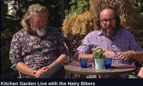 Speckled Hen Table on the Hairy Bikers at Hampton Court