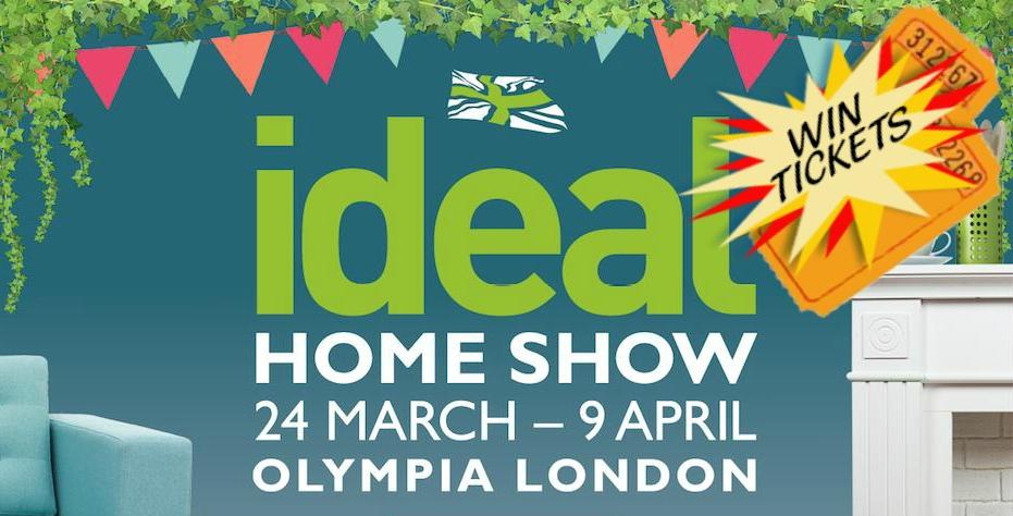 win free tickets to the ideal home show