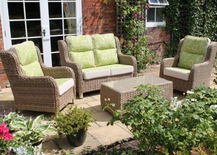 Canterbury Range of Outdoor Rattan