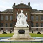 The East Front Gardens at Kensington Palace