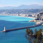 A picture of Nice in France