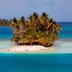 An island in Panama