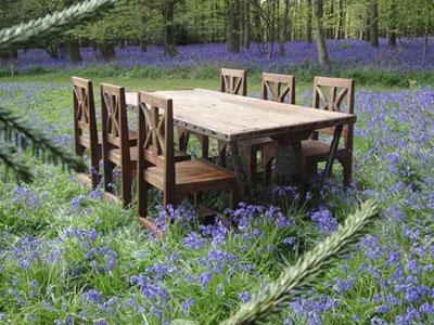 Reclaimed Teak makes great eco furniture