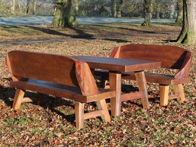 The Flintstones Bench Set