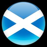 Scotland Flag Button