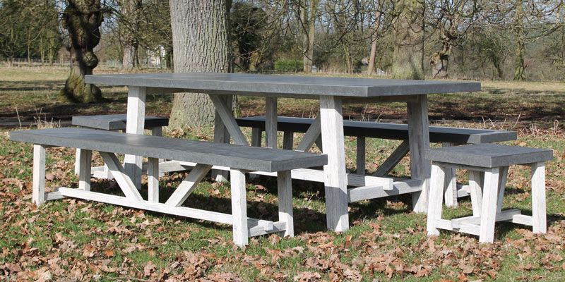 Eco Bench Sets for hire