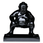 Black Sumo Ornament