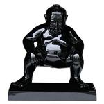 Black Sumo Ornament