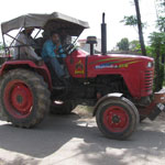 Old Indian Tractor