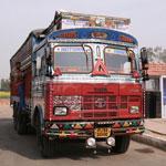 Indian Tata Lorry