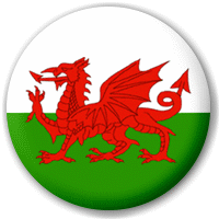 Welsh Flag Button