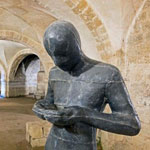 Anthony Gormley Sculpture at Winchester Cathedral