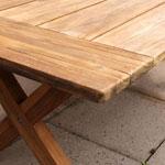 X-Legged Dining Table