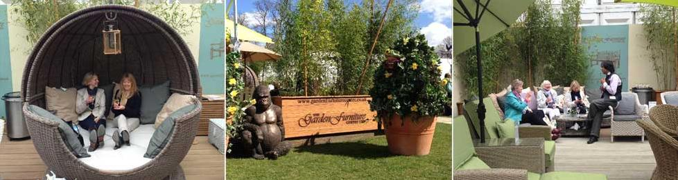 Our Furniture at RHS Flower Shows