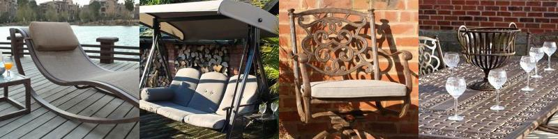A range of Aluminium Garden Furniture
