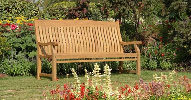 Garden Furniture Eastbourne garden benches | low prices | teak | rustic oak | pine