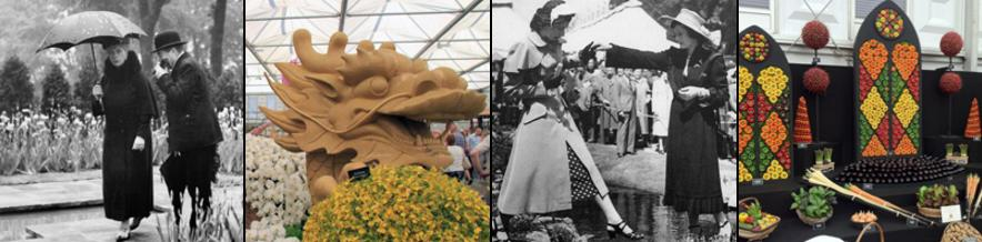 RHS Chelsea Flower Show through the years