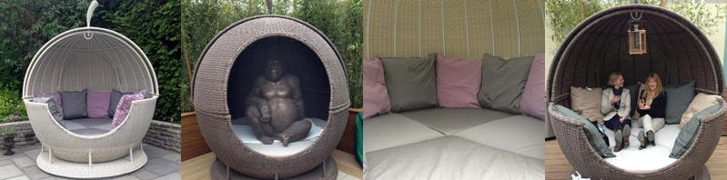 outdoor day beds from the garden furniture centre