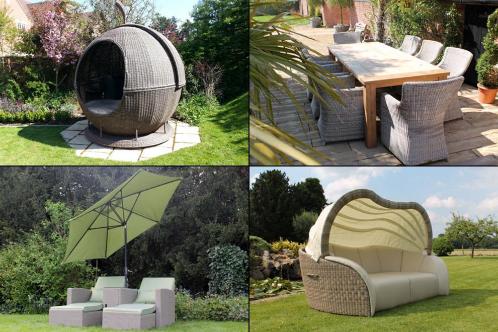 Garden Furniture at Hampton Court Palace