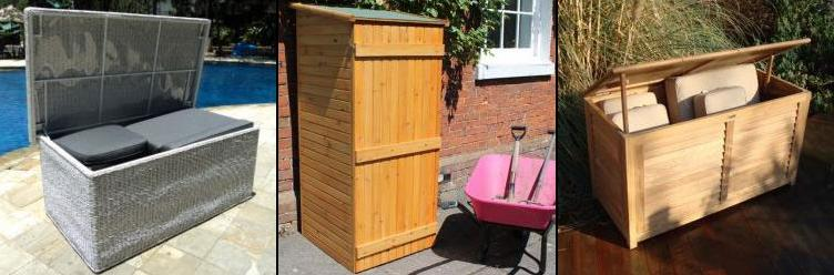 KEEP ALL YOUR GARDEN ACCESSORIES IN ONE PLACE WITH ATTRACTIVE OUTDOOR  STORAGE IDEAS FROM THE GARDEN FURNITURE CENTRE.