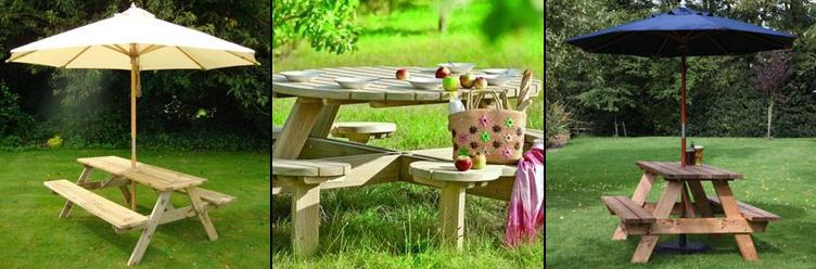 Picnic Tables and Sets