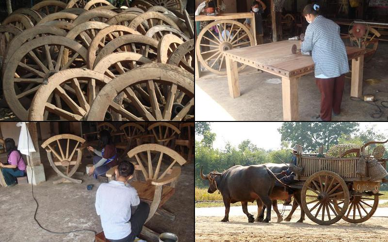 How reclaimed teak furniture is made