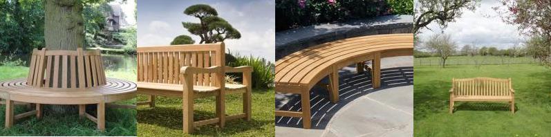 Variety of Teak benches
