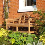 Lutyens Classic Bench in two sizes 1.9m and 1.5m