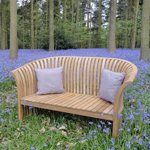 The totally unique Spring Bench in Bluebell Woods