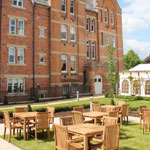 Warwick Square Table Sets at Binswood Retirement Village