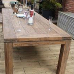York Teak Dining Table